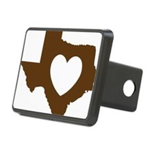 heart_brown Hitch Cover
