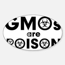 gmos are poison Decal