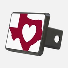 heart_maroon Hitch Cover