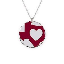 heart_maroon Necklace