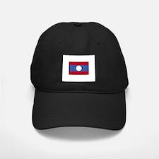 Laos Flag Baseball Hat