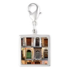 doors150_3 Silver Square Charm