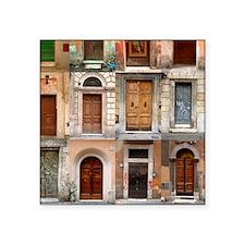 "doors150_6 Square Sticker 3"" x 3"""