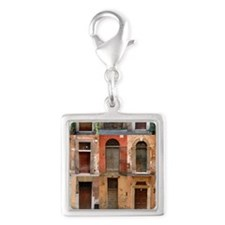 doors150_5 Silver Square Charm