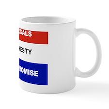 2-NO ILLEGALS NO AMNESTY NO COMPROMISE  Mug
