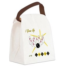 I Grew Up at the Lanes Canvas Lunch Bag