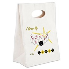 I Grew Up at the Lanes Canvas Lunch Tote