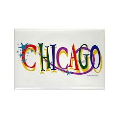 Chicago Stars Rectangle Magnet
