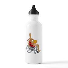 WheelchairBasketball Water Bottle