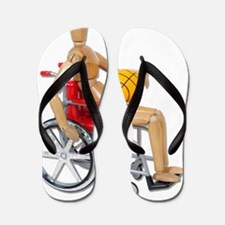 WheelchairBasketball Flip Flops