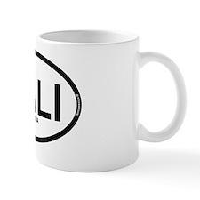 cali california oval sticker 1 Mug