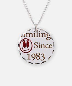smiling 83 Necklace