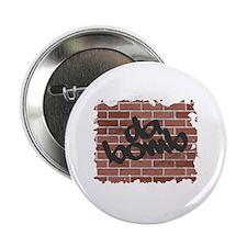 """Graffiti Style """"da bomb"""" Design Button"""