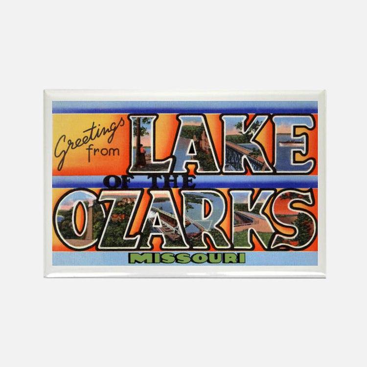 Lake of the Ozarks Missouri Rectangle Magnet