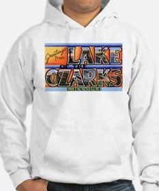 Lake of the Ozarks Missouri (Front) Hoodie