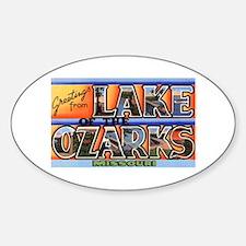 Lake of the Ozarks Missouri Oval Decal