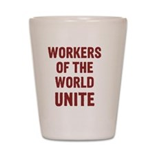 workers Shot Glass