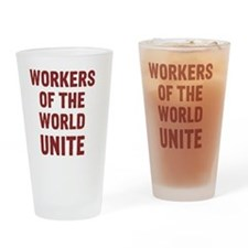 workers Drinking Glass