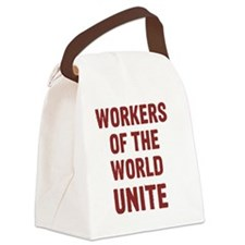 workers Canvas Lunch Bag