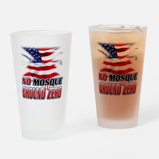 No Mosque At Ground Zero Drinking Glass