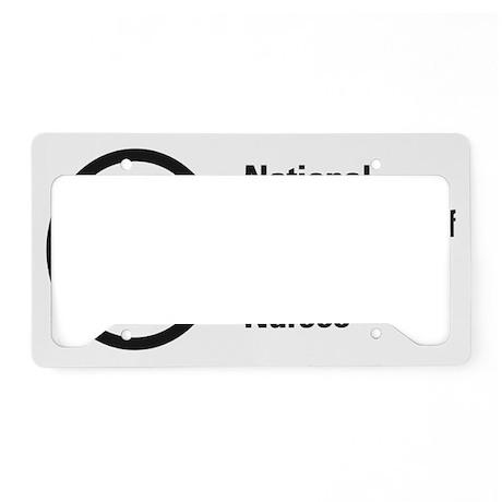 NANNLogoREVISED License Plate Holder