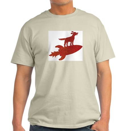 Trusty Rusty Red Setter Ash Grey T-Shirt