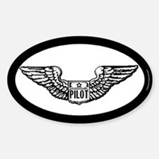 Pilot gear Oval Decal