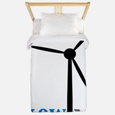 blow me wind turbine Twin Duvet