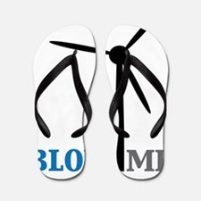 blow me wind turbine Flip Flops