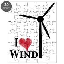 i love wind Puzzle
