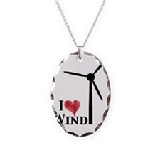 i love wind Necklace