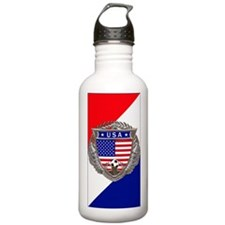 U S A Soccer Water Bot Water Bottle
