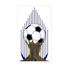 Soccer Ball Water Bottle Decal