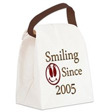 smiling 2005 Canvas Lunch Bag