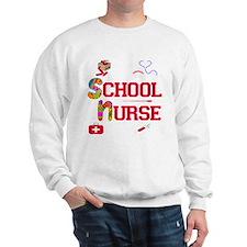 School Nurse Sweatshirt