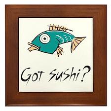 gotSushi Framed Tile