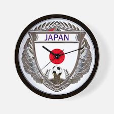 Japan Soccer Gym Bag Wall Clock