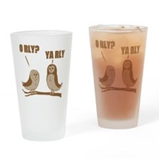 3-orly Drinking Glass