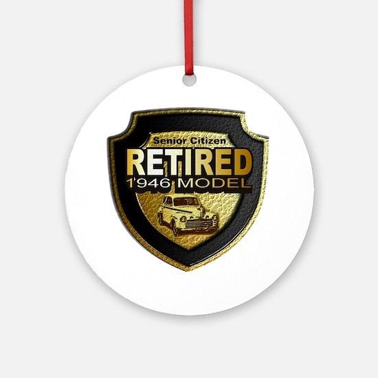 Born 1946 12x12 Round Ornament