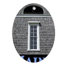 churchtowerME Oval Ornament