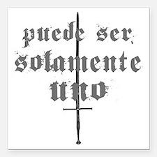 """Altatierrador-gothical2 Square Car Magnet 3"""" x 3"""""""