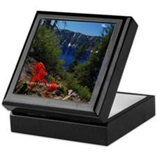 Crater Lake Natl Park Keepsake Box