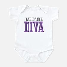 Tap Dance DIVA Infant Bodysuit