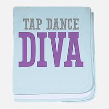 Tap Dance DIVA baby blanket