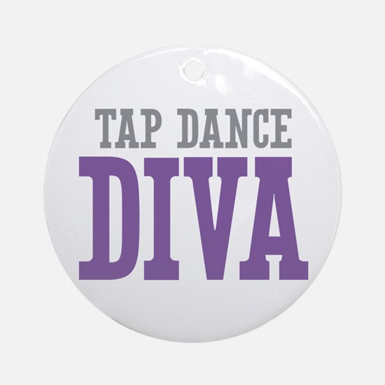 Tap Dance DIVA Ornament (Round)