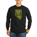 Pershing County Sheriff Long Sleeve Dark T-Shirt