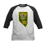 Pershing County Sheriff Kids Baseball Jersey