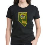 Pershing County Sheriff Women's Dark T-Shirt