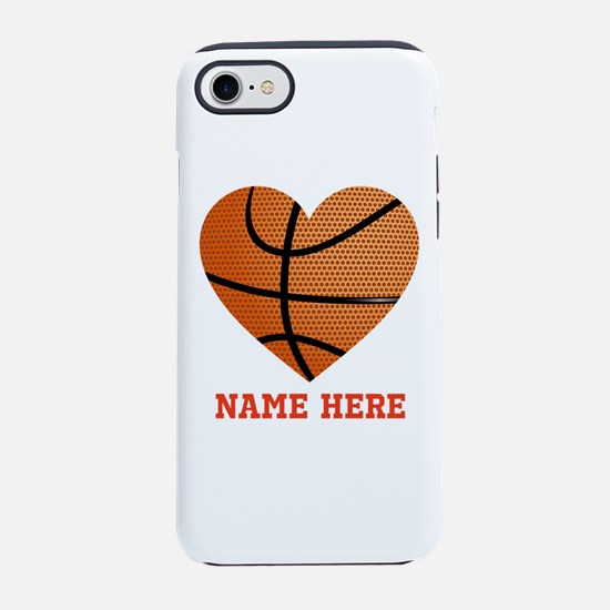 Basketball Love Personalized iPhone 7 Tough Case