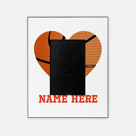 Basketball Love Personalized Picture Frame